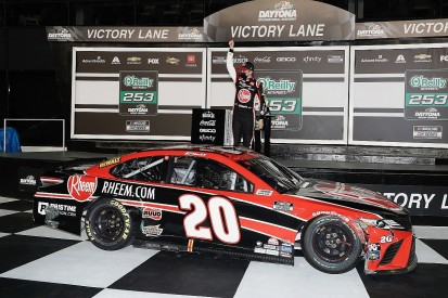 "Bell not ""overly shocked"" to claim first NASCAR Cup win"
