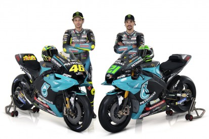 MotoGP 2021: Petronas zeigt die Yamahas von Rossi und Morbidelli