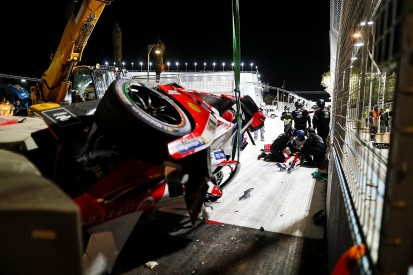 "Lynn ""100% fine"" after horror Diriyah FE crash"