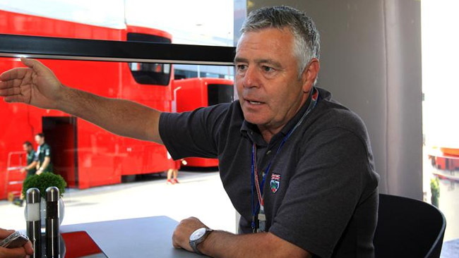 Derek Warwick commisario FIA ad Austin