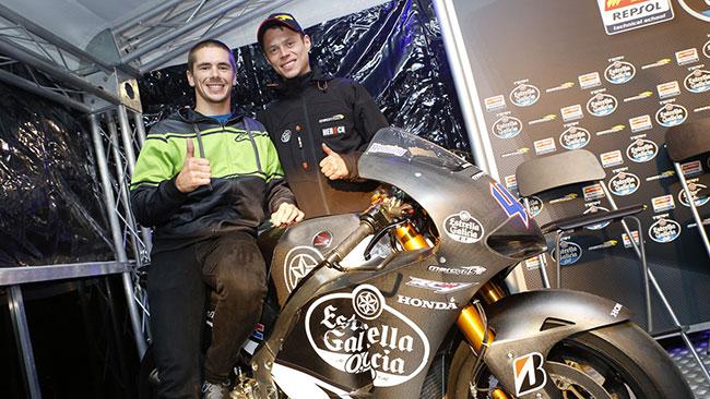 Marc VDS ed Estrella Galicia insieme dal 2015