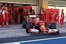 Marciello al debutto sulla Ferrari F14 T