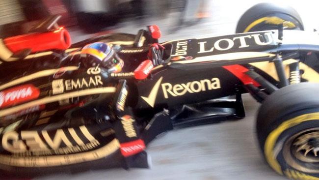 Primi giri con la Lotus E22 per Alex Lynn
