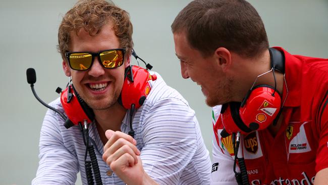 Vettel ha fretta di girare con la Ferrari a Fiorano