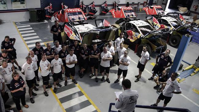 Dakar: i tre piloti Peugeot l'hanno vinta 17 volte!