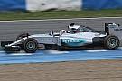Mercedes: team con più km oggi nonostante il guasto