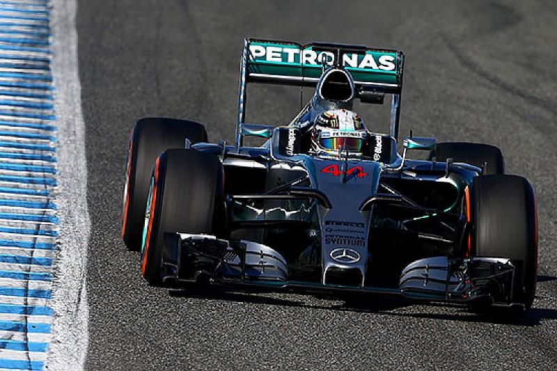 Jerez, Day 4, Ore 15: Hamilton si riporta secondo