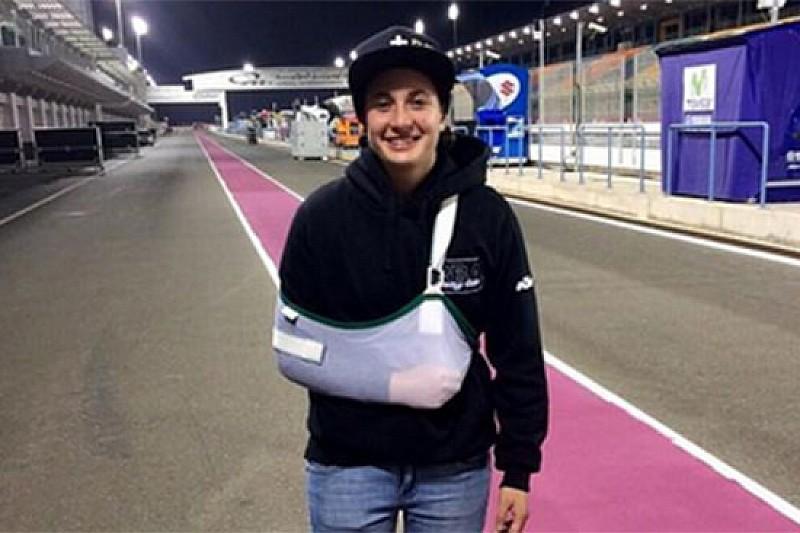 Ana Carrasco non può correre in Qatar