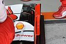 Ferrari: sostituito il sensore sulla SF15-T di Kimi