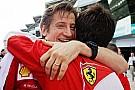 Ferrari: Rivola è rimasto a casa per motivi personali?