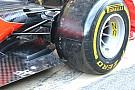 Ferrari: brake duct col soffiaggio e tre slot sul fondo