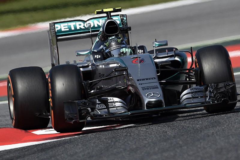 Barcellona, Libere 3: Rosberg rispunta, Vettel incalza