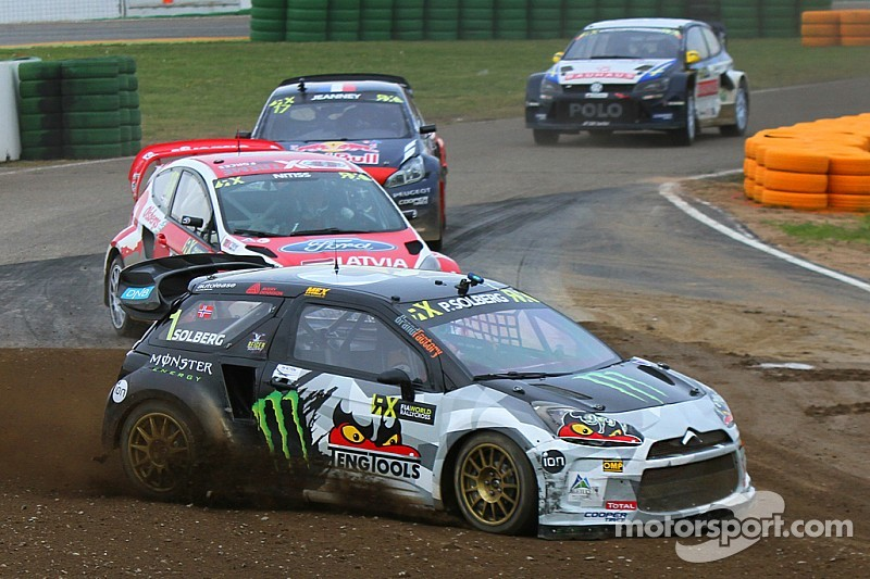 Bumper Supercar entry for World RX and Euro RX in Belgium