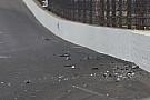 Newgarden crash caused by cut tire