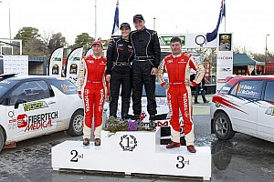 Other rally Race report Taylor takes the round, Bates third on debut