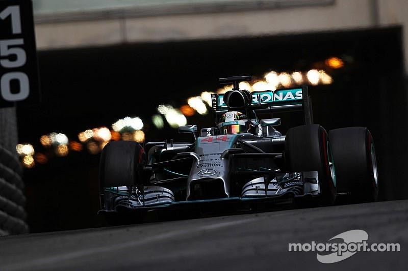 Hamilton set to run first in Monaco Q3