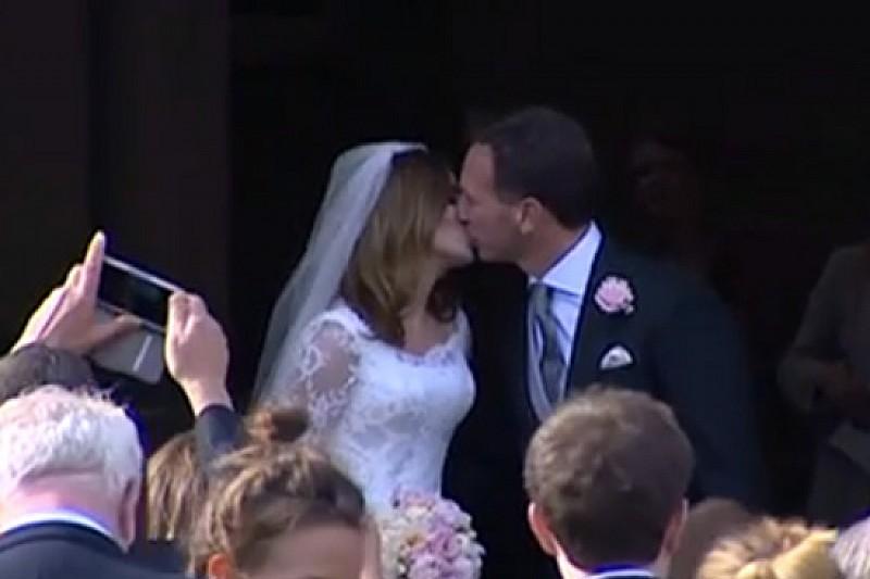 Christian Horner e Geri Halliwell sposi