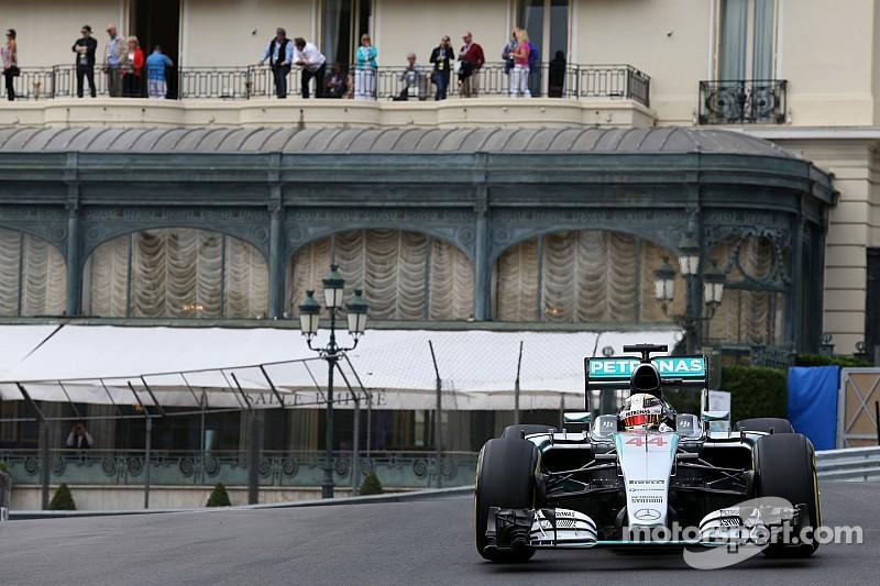 Hamilton luce confiado en Mónaco