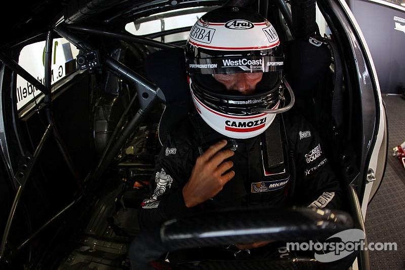 Gianni Morbidelli, con la pole en Monza