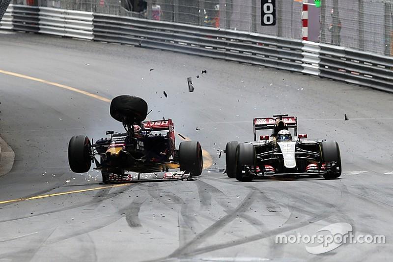 """Verstappen - """"Grosjean m'a fait un brake-test"""""""