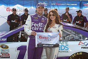 NASCAR Cup Qualifying report Hamlin claims third Sprint Cup pole at Dover