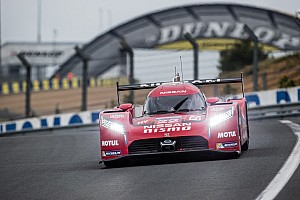 Le Mans Testing report Nissan completes busy LM P1 test at Le Mans