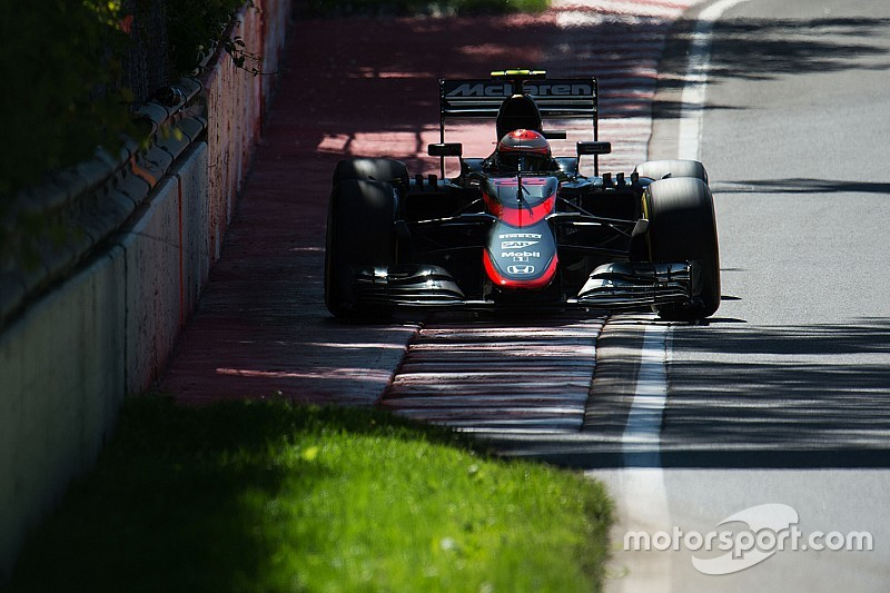 Canadian GP: Provisional starting grid