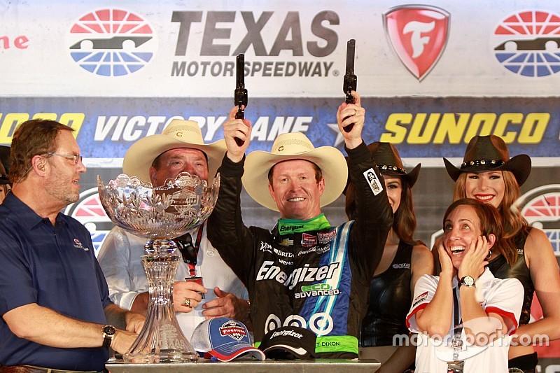 Scott Dixon wins at Texas
