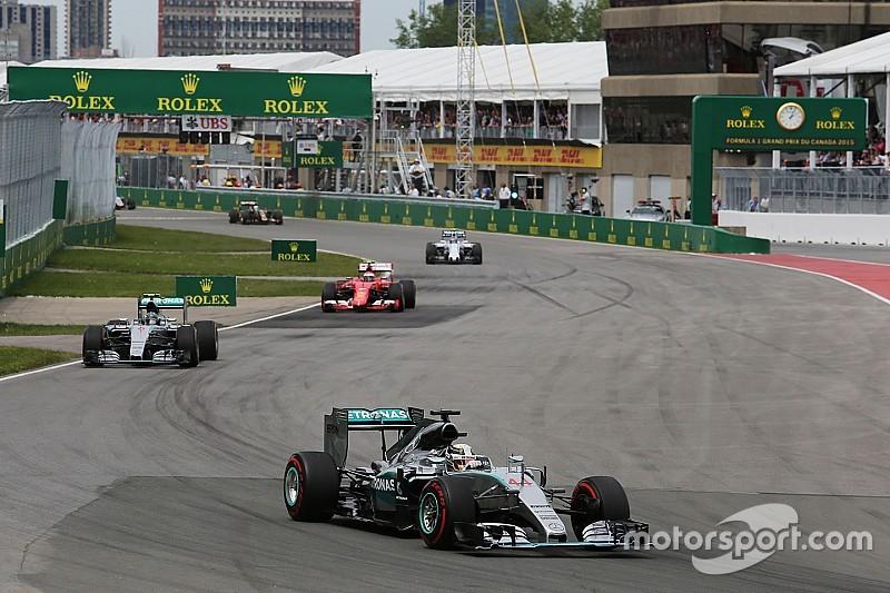 Mercedes a dû gérer les freins et l'essence de ses pilotes