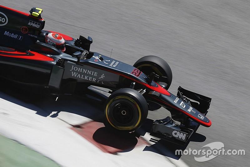 McLaren - Crash-test manqué pour le nouveau nez court