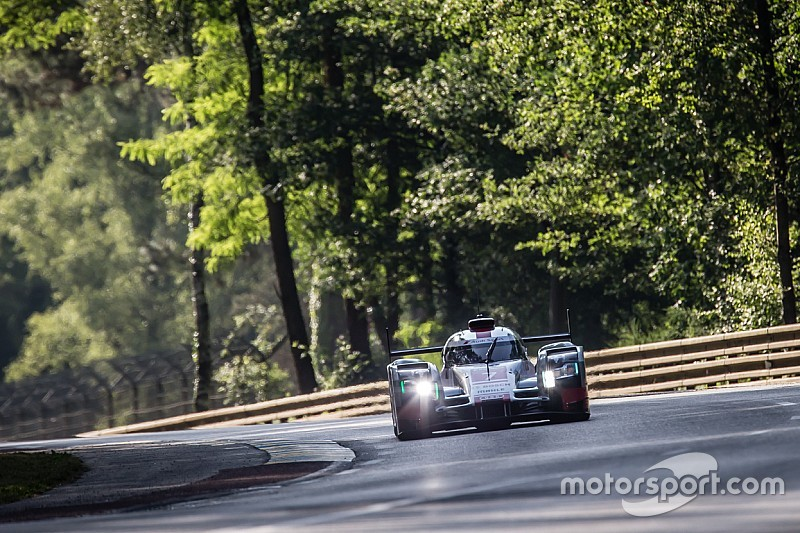 H+2 - Lotterer prend la tête face aux Porsche!