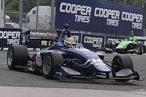 Indy Lights Relato da corrida Nelsinho Piquet é obrigado a abandonar novamente em sua segunda prova na Indy Lights