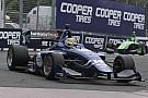 Indy Lights Nelsinho Piquet é obrigado a abandonar novamente em sua segunda prova na Indy Lights