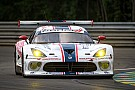 Dodge Viper GTS-R leads in competitive 24 Hours of Le Mans debut only to end up just short of finish