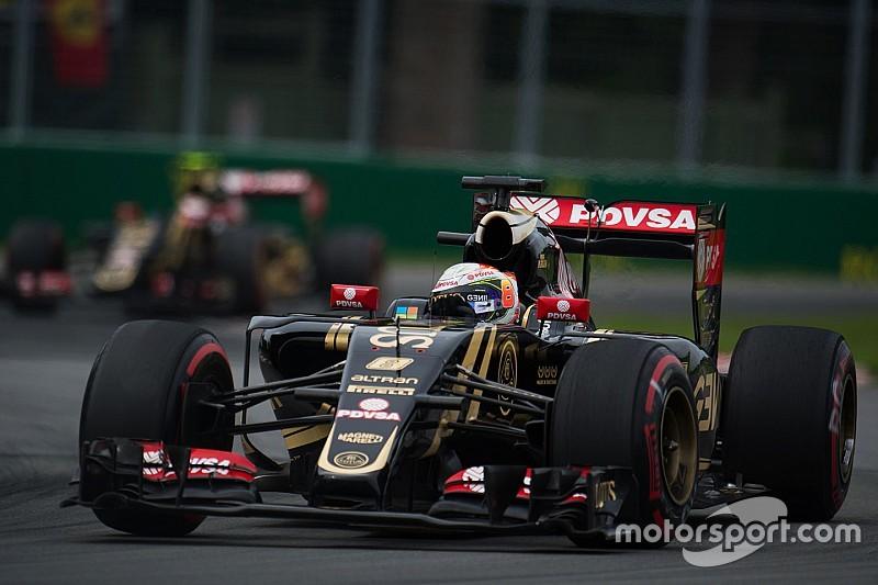 """Grosjean - """"Les prochaines courses vont convenir à la Lotus"""""""