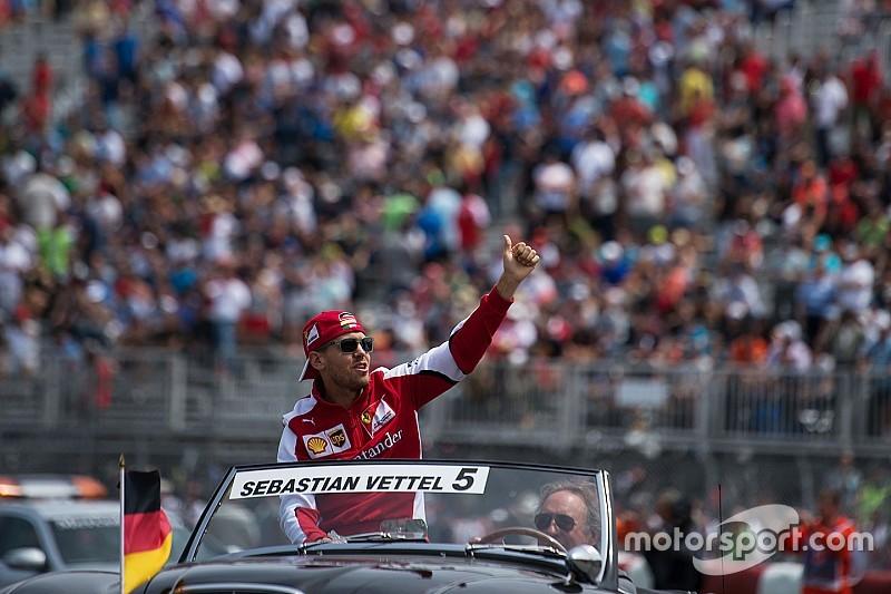 Vettel cree que su cambio a Ferrari benefició a la F1