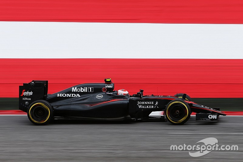 Button gets 25-place grid penalty