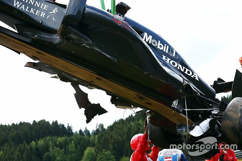 McLaren modifie son programme d'essais privés