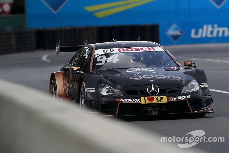 Norisring DTM: Wehrlein wins as Mercedes dominates
