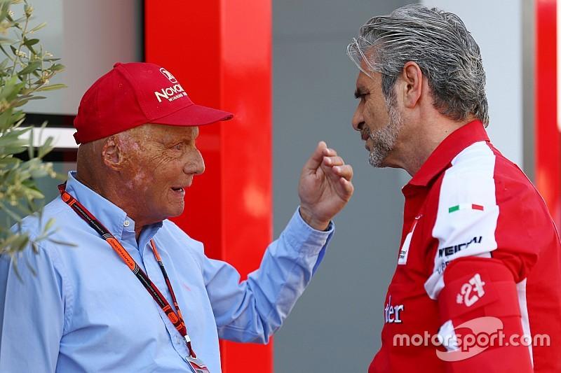 Лауда: Когда надо было делать машину, в Ferrari ели спагетти