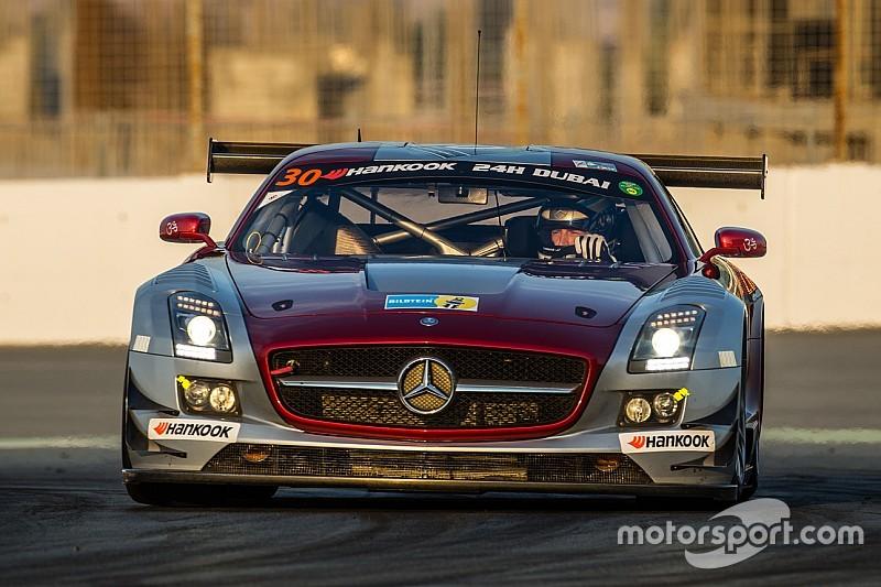 Thomas Jäger puts the Ram Racing Mercedes-Benz SLS AMG on pole for the 24H Circuit Paul Ricard