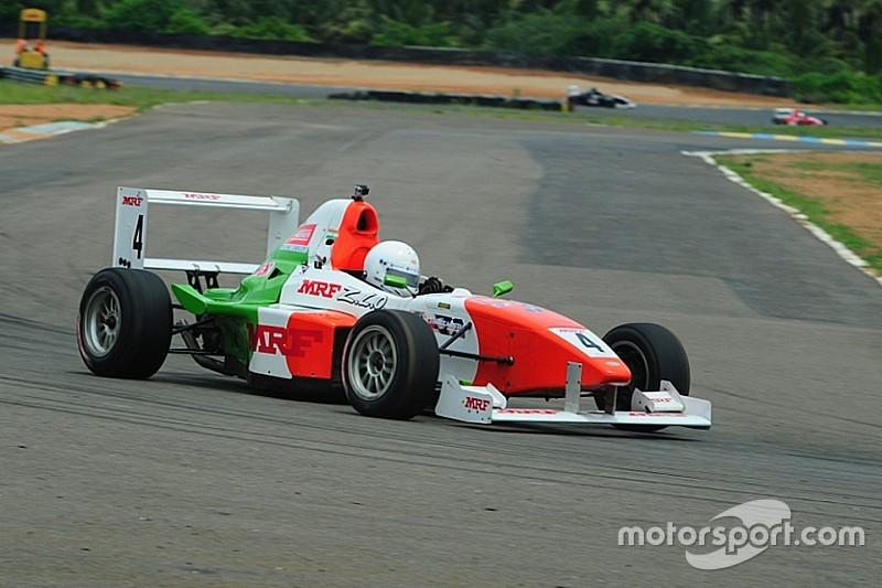 Parekh on pole for MRF 1600 Race 1