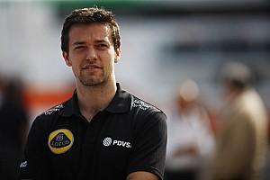 Formule 1 Actualités Palmer veut être titulaire chez Lotus en 2016