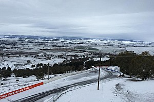 Supercars Breaking news Bathurst transforms into winter wonderland