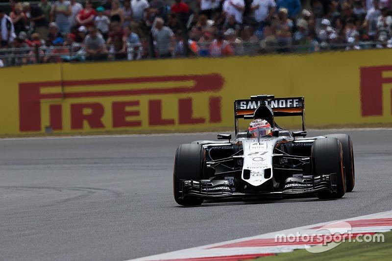 Force India еще прибавит, уверен Хюлькенберг