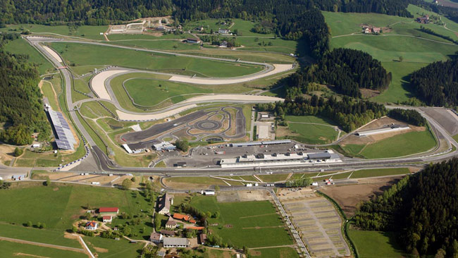 Il programma per il weekend del Red Bull Ring