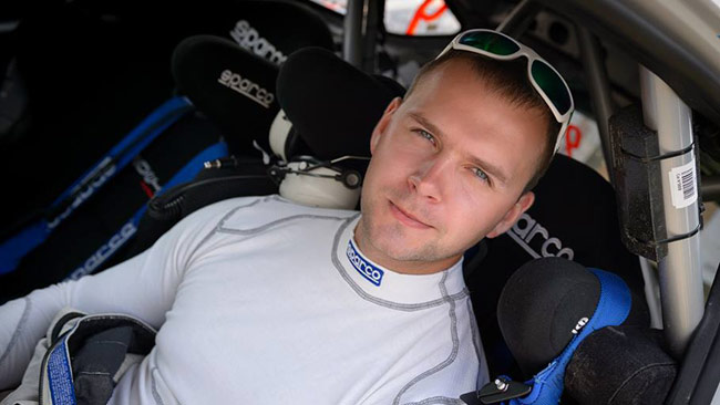 Kõrge punta alla vittoria in Estonia con la 208 T16