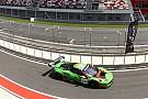 La Ferrari del Rinaldi Racing apre il weekend russo