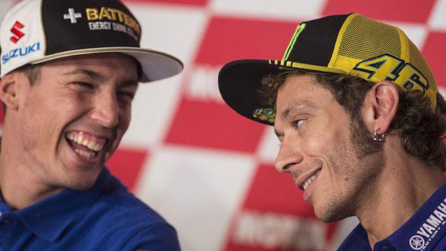 Rossi ed Espargaro multati alla fine delle qualifiche
