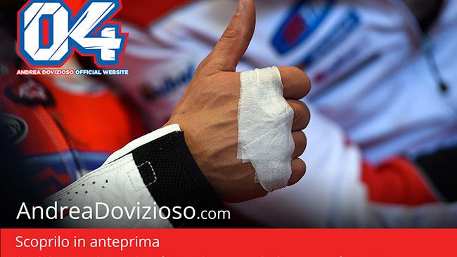 A breve il debutto del nuovo sito di Andrea Dovizioso